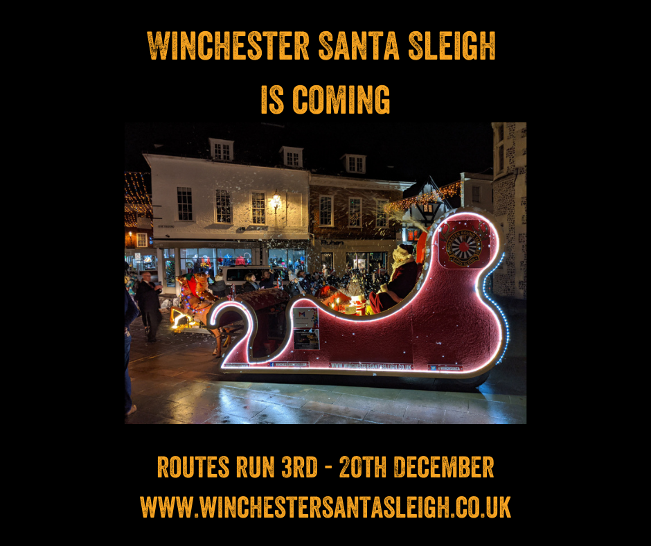 Winchester Santa Sleigh