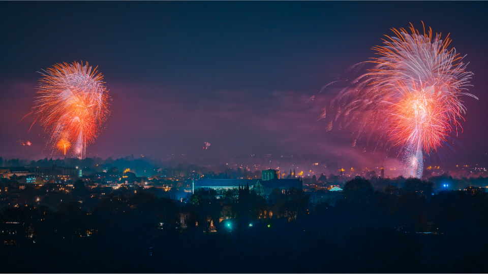 Winchester Fireworks 2021